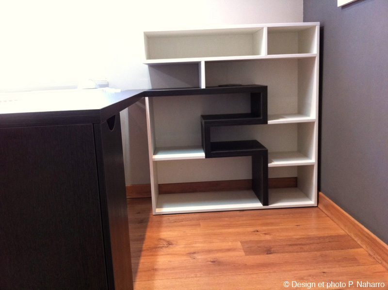 fabrication de mobilier de bureau sur mesure. Black Bedroom Furniture Sets. Home Design Ideas