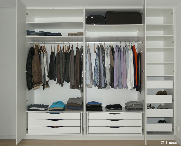 Custom made wardrobes for Photo de dressing